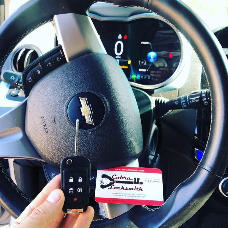chevrolet silverado key replacement