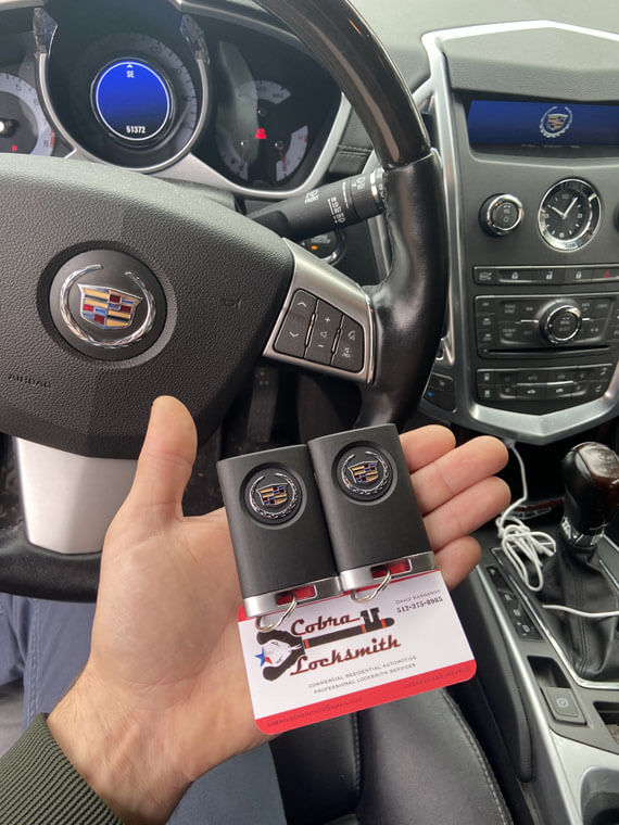 Smart keys replacement for Cadillac SRX near by East 13th Street