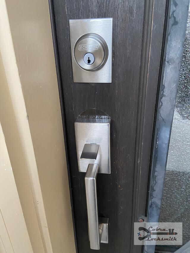regular deadbolt lock