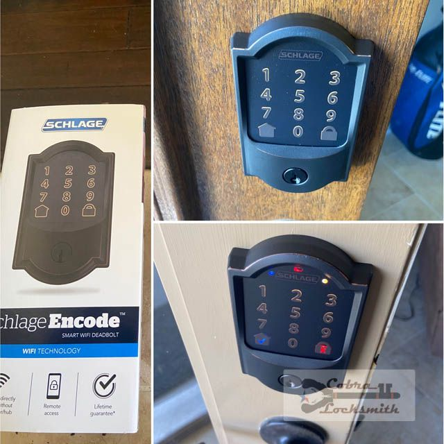 high security electronic lock for home automation
